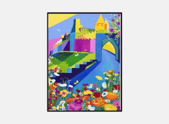 Affiche Cité au printemps A3