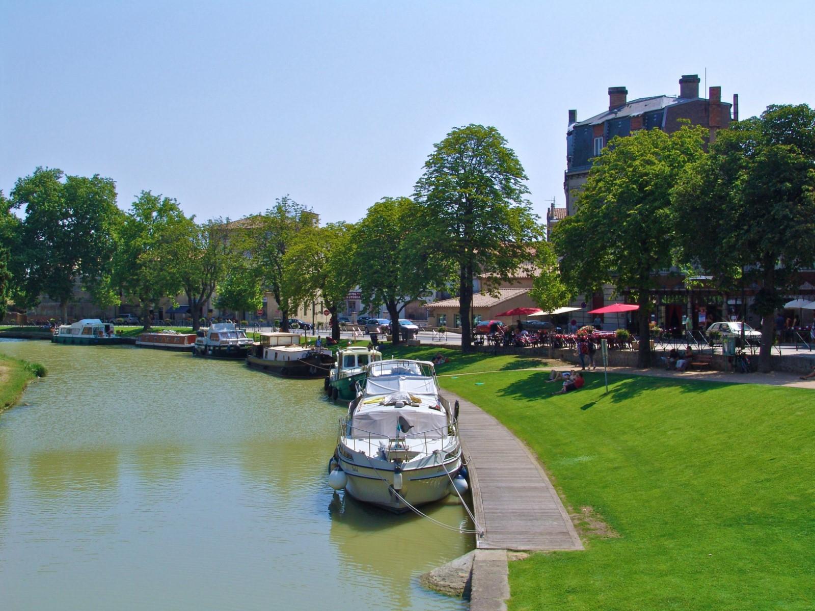 Visite du Canal du Midi avec guide costumé